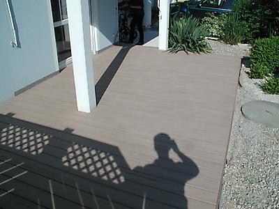 Galerie Kategorie Terassenboden Bild Wpc Terrasse In Sandfarben