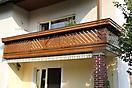 Balkon mit Jotun Trebitt