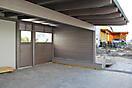 Carport mit Wänden